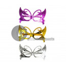 metallized plastic glasses gag papillon mix