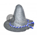 Großhandel Kopfbedeckung: scharfe grau Tiroler Hut mit Seil