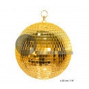 wholesale Baby Toys:20cm faceted golden ball