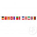 ghirlanda 12 bandiere bandiere Euro 2016 5m