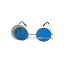 gag glasses cool blue round baba