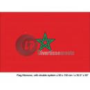grossiste Gadgets et souvenirs:drapeau maroc 90x150 cm