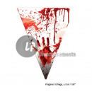 Garland 10 pennants bloody hands 5m