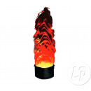 1.5m artificial flame led's machine