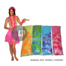 Großhandel Röcke: Set Tahiti Hawaii 5 Stück Mix