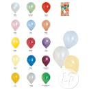 Serie von 100  Latexballons 40cm METALLIC Mix