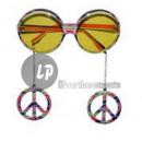 nagyker Napszemüveg: szemüveg gag béke és szeretet