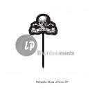 wholesale Cutlery: set of 12 spades apéritif pirate 7.5cm
