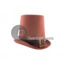 Großhandel Fashion & Accessoires: brauner Steampunk-Hut 20cm