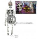 betriebene light & sound Skelett 1m50