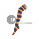 Großhandel Strümpfe & Socken: Paar Regenbogen Regenbogen Socken 45cm