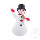 Schneemann-Licht 1m20 aufblasbarer Schnee