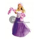 álruhában Princess lila méret 116cm