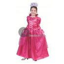 principessa costume bambino rosa t 104 centimetri