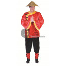 wholesale Costume Fashion: disguise of red chinese size xxl