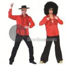 Großhandel Hemden & Blusen:rotes Hemd Größe m / l