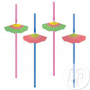 wholesale Parasols & Pavilions: set of 8 parasol straws lounge - 24cm