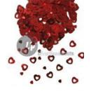 tafel confetti rood hart