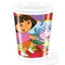 Dora set van 10 plastic bekers
