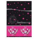 wholesale Table Linen: pink plastic pirate tablecloth