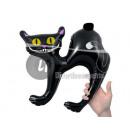 opblaasbare zwarte kat 41cm