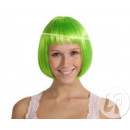 Großhandel Geschirr: grün fluoreszierende Perücke