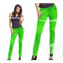 broek legging neon groen