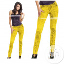yellow neon leggings