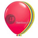 Lote 10 globos multicolores de neón fluo