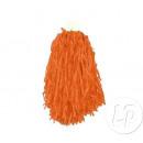 borlas par animadora con anillos de color naranja