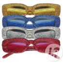 wholesale Glasses: glasses disco glitter oval mix
