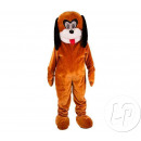 la mascota del traje adulto de la felpa del perro