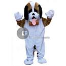 santo perro mascota traje bernard en pel