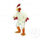 groothandel Speelgoed: witte kip mascotte kostuum
