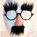 ingrosso Occhiali: nero baffi naso  occhiali sopracciglia
