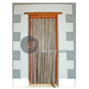 wholesale Curtains & Drapery: door curtain metallic silver