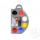 Make-up-Palette mit Wasser 6 Farben