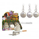 wholesale Food & Beverage: engraved metal pocket ashtray with carabiner m