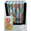 wholesale Haberdashery & Sewing: piggy bank Euro 12cm metal
