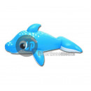 wholesale Security & Surveillance Systems: Inflatable dolphin  rideable BLUE 157x89cm