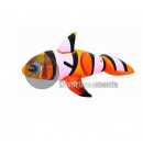 wholesale Security & Surveillance Systems: inflatable clown  fish rideable 157x94cm