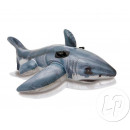 inflatable white shark rideable 173x107cm