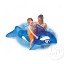 grossiste Fournitures de bureau equipement magasin: baleine gonflable  chevauchable 152x114cm bleu