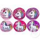 wholesale Cushions & Blankets: Pillow round unicorn mix 32cm