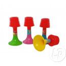 wholesale Pictures & Frames: mini plastic trumpet Pouêt 12cm mix