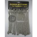 chainette metalen sleutelhanger met karabijnhaak 2