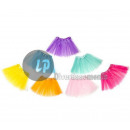 pastel tulle skirt child mix 29cm