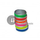 Lot of 100 rings color neon fluo mix