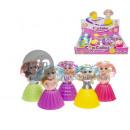 poupée princesse mini cupcake parfumé mix 10cm