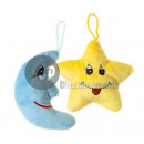 plush star & moon mix 15cm